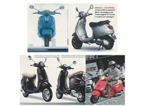 Scooter Piaggio Vespa